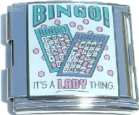 BINGO! It's a LADY Thing.