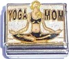 Yoga Mom on White