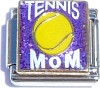 Tennis Mom on Purple