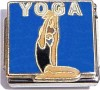 Yoga on Blue