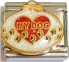 My Dog Ornament Italian Charm
