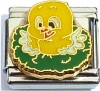 Yellow Baby Bird Italian Charm
