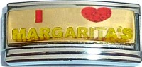 I Love Margaritas (superlink) Italian Charm
