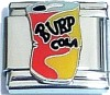 Cola Soda Can Italian Charm