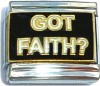Got Faith?  Italian Charm