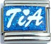 CT6513 Tia on Blue Italian Charm
