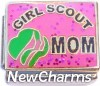 CT9724 Girl Scout Mom Italian Charm