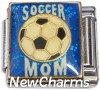 CT9771 Soccer Mom Italian Charm
