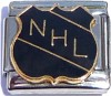 NHL National Hockey League 9mm Italian Charm for Sale