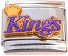 SP9536 Sacramento Kings With Crown