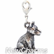 CH510 Silky Terrier Dog Dangle