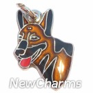 JR134 German Shepherd ORing Charm