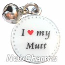 JR171 I Love My Mutt ORing Charm