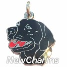 JR178 Black Lab O-Ring Charm