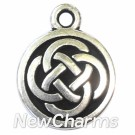 JT109 Silver Celtic Circle ORing Charm