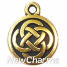 JT110 Gold Celtic Circle ORing Charm