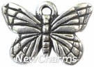 JT134 Silver Butterfly ORing Charm