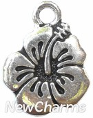 JT138 Silver Flower ORing Charm