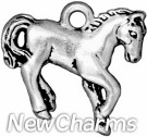JT151 O-Ring Dangle Silver Horse