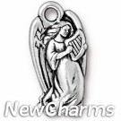 JT184 O-Ring Dangle Silver Angel