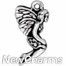 JT211 Silver Leaf Fairy O-Ring Charm