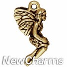 JT212 Gold Leaf Fairy O-Ring Charm
