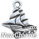 JT248 Clipper Pirate Ship O-Ring Charm