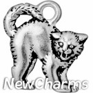 JT251 Halloween Cat O-Ring Charm