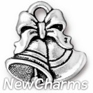 JT275 Silver Bells O-Ring Charm