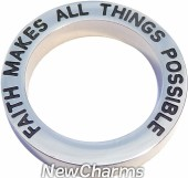 Faith Makes All Things Possible Open Disk