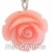 CH210 Big Pink Flower Dangle