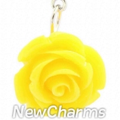 CH214 Yellow Rose Dangle