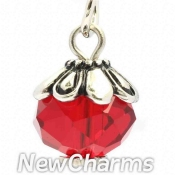 CH442 January Birthstone Dangle