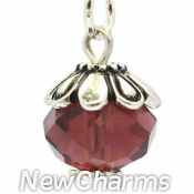 CH443 February Birthstone Dangle