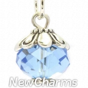 CH444 March Birthstone Dangle