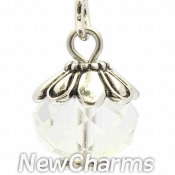 CH445 April Birthstone Dangle