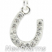 CH550 Horseshoe With Stones Dangle