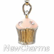 CH501 Small Cupcake Dangle