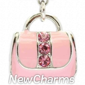 CH552 Pink Purse Dangle