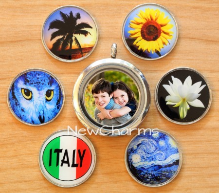 Custom Photo Plate for Locket