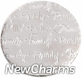 DR900 Silver BIG Handwritten Family Disk