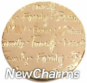 DR901 Gold BIG Handwritten Family Disk