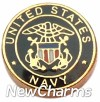 H1116 Navy Seal Floating Locket Charm