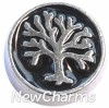 H7191 Circle Tree Of Life Floating Locket Charm