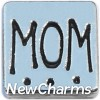 H7796 Mom Big Square Floating Locket Charm
