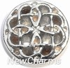 H7834 Celtic Circle Floating Locket Charm