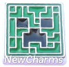 H7989 Minecraft Floating Locket Charm