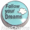 H9760 Follow Your Dreams With Cloud Floating Locket Charm