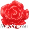 H9854 Little Red Rose Floating Locket Charm