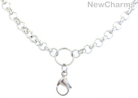 "31"" Thick Loop Necklace"